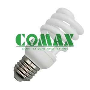 CFL Lighting Bulbs 240V T2 Half Spiral 20W Energy Saving Lamp pictures & photos
