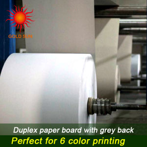 White Coated Duplex Board Paper pictures & photos