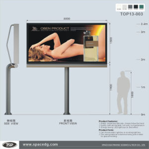 Small Pole Supported Outdoor City Light LED Box pictures & photos