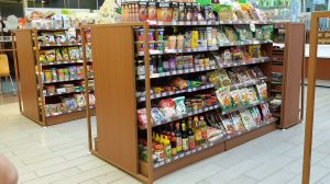 Muti-Functional Display Supermarket Shelves for Boutique Shop
