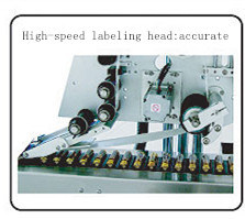 Horizontal Automatic Pharmaceutical & Food Small Bottle Sticker Label Labeling Machinery pictures & photos