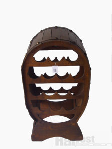 Wooden Wine Rack (HS100032)