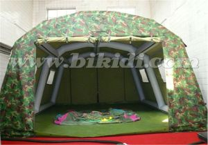 Airtight Inflatable Camouflage Tent, Inflatable Military Tent for Campingk5062 pictures & photos