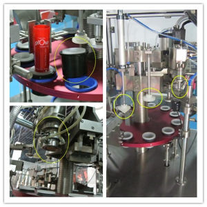 Aluminum Tube Filling Machine and Soft Sealing Machine pictures & photos