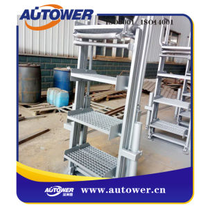 Foldable Ladder Stairs For Oil Loading Platform In Petrochemcial Industrial
