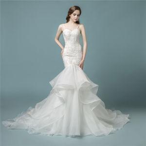 Wedding Dresses Mermaid.Amelie Rocky 2018 Lace Bridal Wedding Dress Mermaid