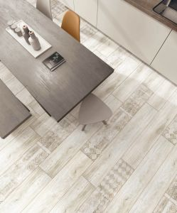 Injet Wood Look Porcelain Floor