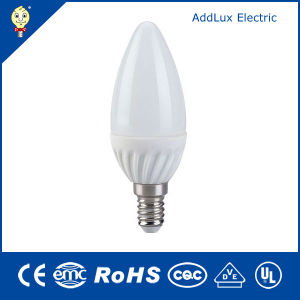 CE UL 220V SMD 3W E14 LED Candle Lamp pictures & photos