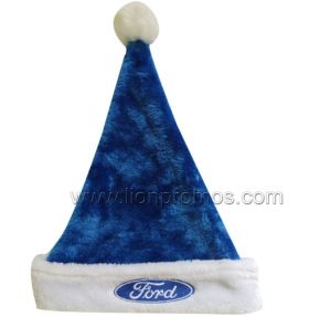 Car Christmas Promotional Gift Fleece Santa Hat pictures & photos