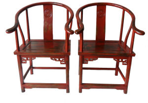 Chinese Antique Furniture Wooden Armchairs Lwe073 pictures & photos