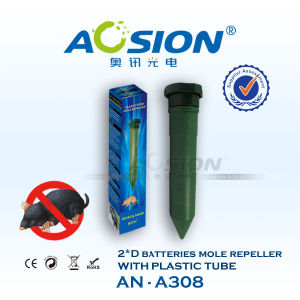 Electronic Battery Outdoor Garden Device Mouse Rodent Vibrator Repellent