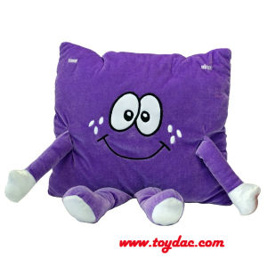 Plush Educational Cartoon Musical Cushion