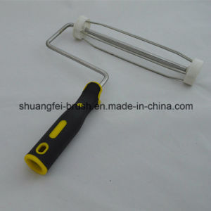 "9"" *5 Wire Rod Dia: 8.0mm Plated Zinc Paint Roller Handle with 38mm Cage pictures & photos"