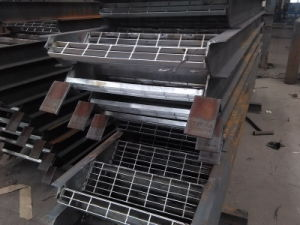 Welded Steel Stair for Steel Structure