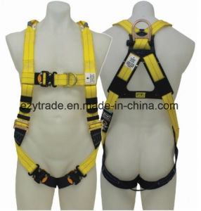 Full Body Harness, Construction Reflective, High Visibility, with D-Rings