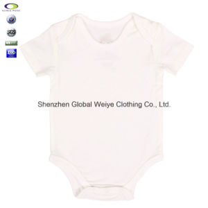 8f07519bbe49 China Wholesale Solid Color Infant Plain Blank Kids Baby Boy Romper ...