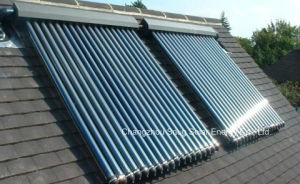 Heat Pipe Solar Collector Heater for Slope Roof pictures & photos