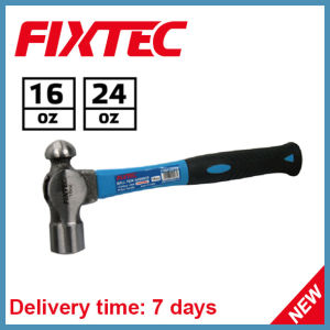Fixtec 24oz Ball Pein Hammer with Fiber Handle pictures & photos