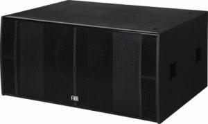 "Double 18"" Compact Vented Line Array Subwoofer pictures & photos"
