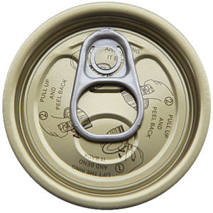 202# Tin Easy Open Lid pictures & photos
