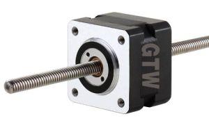 China nema 14 hollow shaft stepper motor hole diameter 5mm for Hollow shaft servo motor