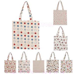 Reusable Cotton Linen Eco Friendly Shopping Bag Grocery Tote Shoulder  Handbag 909373cd35