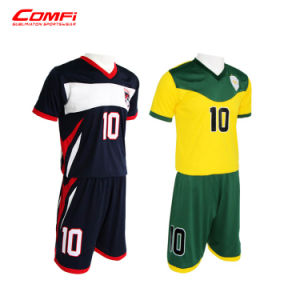 935e2ce1c China Club Kids Soccer Uniform Children Football Jersey with ...
