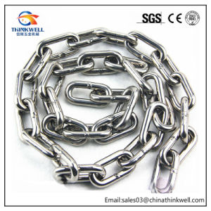 Ss304 DIN766 Standard Stainless Steel Lifting Chain/Link Chain pictures & photos