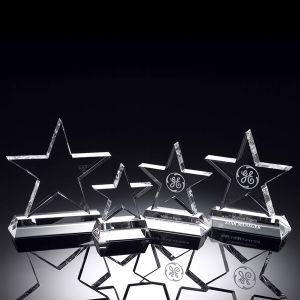 Standing Crystal Star Trophy for Recognition Award Ideas pictures & photos