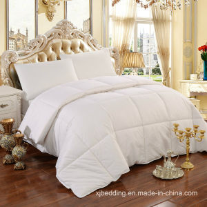 100% Cotton Fabric Wool Filling Quilted Wool Duvet