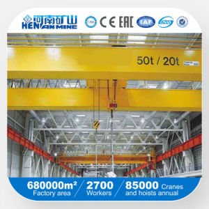 Qd Type Hot Sale Double Girder Overhead Crane with Best Quality pictures & photos