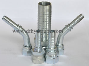 Hydraulic Hose Fittings (Straight, albow) pictures & photos