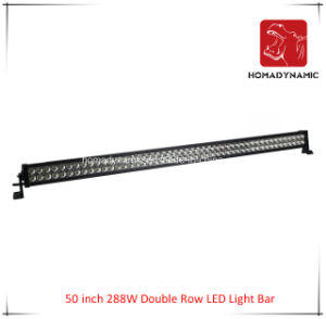 LED Car Light of 50 Inch 288W Double Row LED Light Bar Waterproof for SUV Car LED off Road Light and LED Driving Light pictures & photos