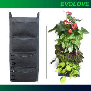 China Flora Felt Living Wall Planter Vertical Garden China Green