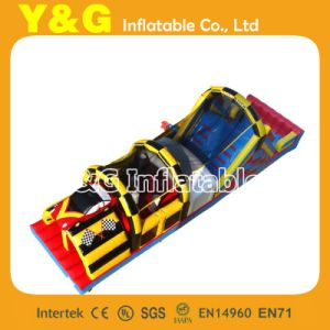 Crazy Car Race Inflatable Obstacle (GE069)