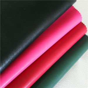 Enbossed PU Artificial Leather for Jacket