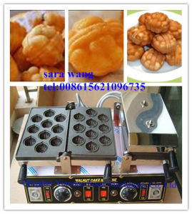 Walnut Shape Cake Machine/Walnut Cake Machine pictures & photos