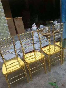 Shiny Gold Resin Chiavari Chair, Tiffany Chair pictures & photos