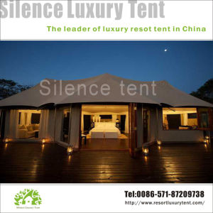 Big Luxury Safari Tent, Capming Best Choice 5+ People Tent pictures & photos