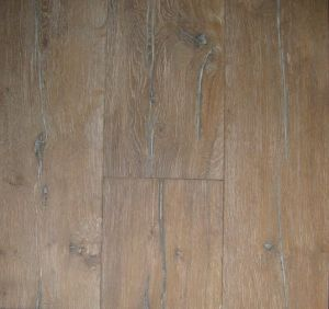 Rustic Grade Hardwood Floor / Oak Wood Flooring
