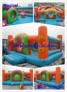 Tiger Inflatable Bouncer, Jumping Bed (MIC-547) pictures & photos