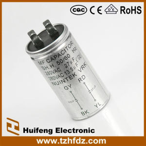 Hf Cbb60 Metal Shell Capacitor pictures & photos
