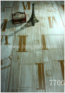 Roman Letter Laminate Flooring with High Abrasion 7706 pictures & photos