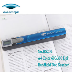 Wireless Mobile Handheld Digtital Pen Scanner (HS200) pictures & photos