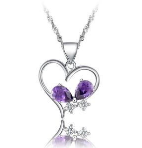 2014 Newest Heart Necklace Pendant Fq-8019