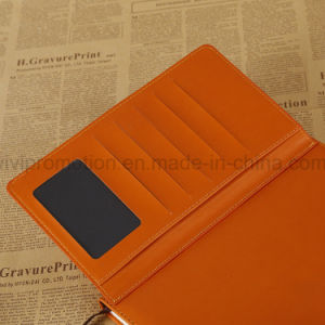 High Quality PU Leather Notebook with Lock for Office Supply (PUN407) pictures & photos