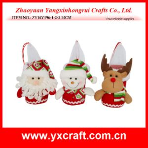 Christmas Decoration (ZY16Y196-1-2-3 14CM) Christmas Snow Tree Gift pictures & photos