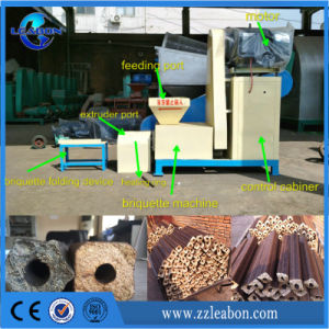 Dry Hay/Sawdust Fireplace and Barbecue Screw Briquette Machine pictures & photos