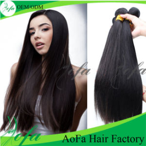 Wholesale Cheap 100% Brazilian Sew in Human Hair Weave pictures & photos