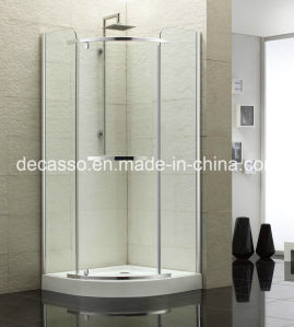 Sector Slidingtempered Glass Aluminium Alloy Shower Enclosure (DV-S) pictures & photos